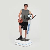 Fit halten Basketballspieler
