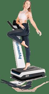 Übungen auf dem hypervibe G14 v3 Home