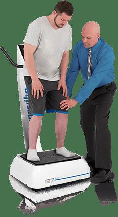hypervibe G17 Übungen mit Trainer