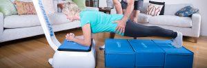 Übungen mit der Stepmatte