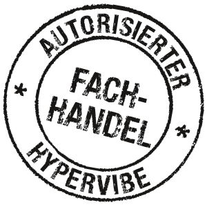Button Hypervibe Autorisierter Fachhandel